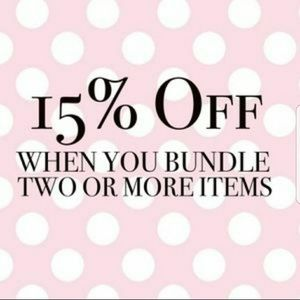 Other - 15% off when you bundle 2 or more items!!!